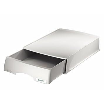 Leitz cassettiera, Formato A4, Polistirene, Nero, PLUS, 52100095 Esselte