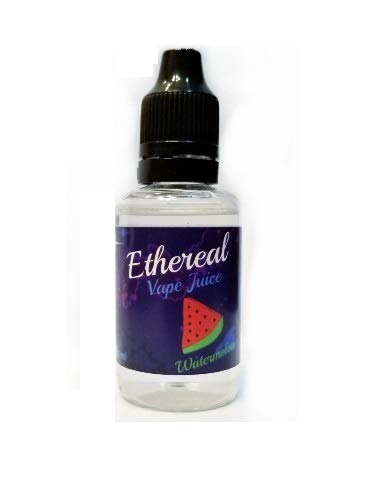 Ethereal Aromatherapy Vape Juice, 0 mg Nicotine 30 ml 100% Nicotine and Tobacco Free e Liquid. (Watermelon)