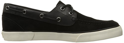 Polo Ralph Lauren Hombres Rylander Sport Suede Fashion Sneaker Black / Black