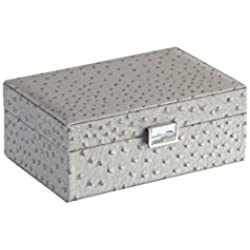 ORE International YMB-1812 Jewelry Case, Gray