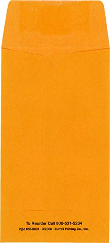 Jewelry/Coin Window Envelope Pack of 500 by Burrell Printing (Image #2)