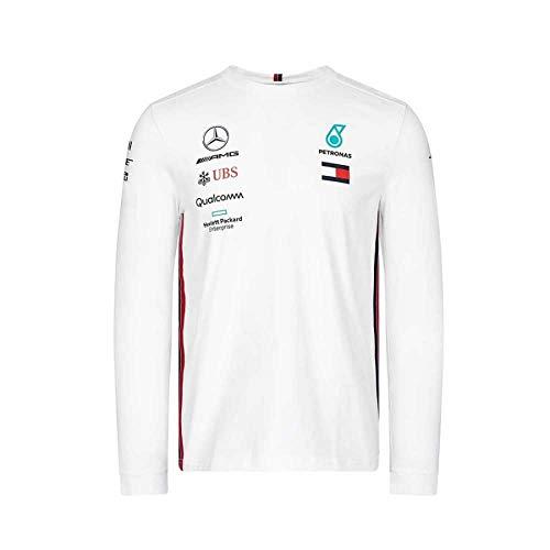 Mercedes-AMG Petronas Motorsport Mens 2019 F1/™ Team Long Sleeve Driver T-shirt M, White