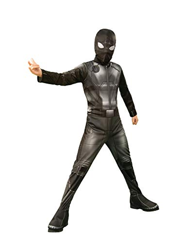 Rubie's Marvel Spider-Man Far From Home Child's Spider-Man Stealth Costume & Mask, Large