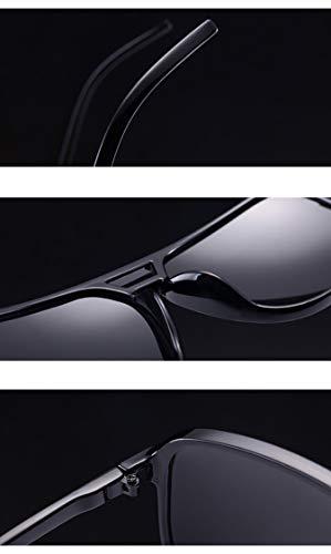À soleil de rétro Monture lunettes unisexe Lunettes Marron style soleil Marron classique Rojeam polarisées de Lentille 8qxOTw4nn