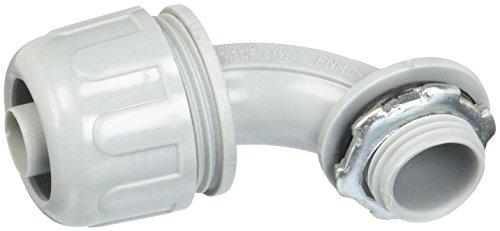 Morris 21822 Liquid Tight Connector, Non-Metallic, 90 Degree, 3/8