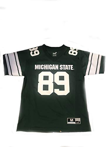 Outerstuff NCAA Michigan State Spartans NCAA Boys CLG Football Jersey, Large (14-16), Hunter ()