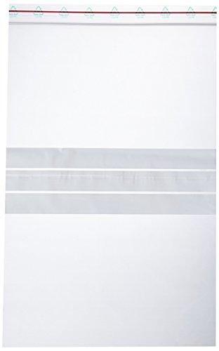 neoLab 1-7093 Kunststoffbeutel mit Beschriftungsfeld, 200 x 300 mm (100-er Pack)
