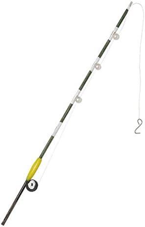 Sports Fishing Pole Rod W Hook Reel Dollhouse Miniature
