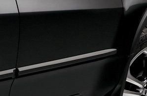 (Acura Mdx 2010-2012 Body Side Molding *Nh731p* (Crystal Black Pearl) )