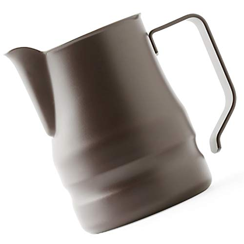 Ilsa Evolution Milk Frothing Pitcher Professional Latte Art Milk Steaming Jug Stainless Steel, Coffee Grey - 750ml / 25oz by Ilsa (Image #2)