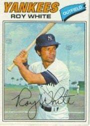 Amazon.com: 1977 Topps Baseball Card #485 Roy White: Collectibles ...