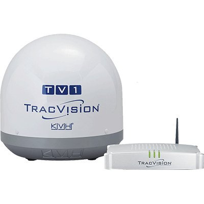KVH Industries 01-0366-07 TracVision TV1 Satellite TV System