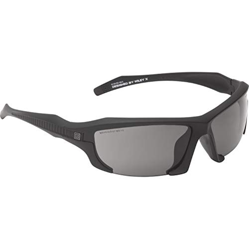 5.11 Tactical 52036 Replacement Lens for 52035 Model Burner Half Frame Sunglasses, Smoke