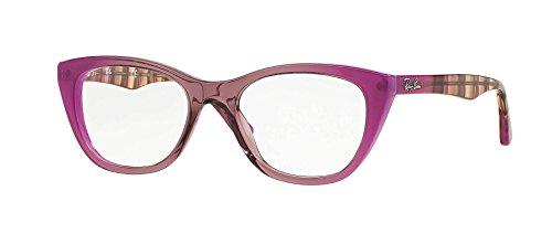 Ray-Ban Eyeglasses RX5322 5489 Grad Antique Pink On Pink 53 18 - P Ray Glasses Ban