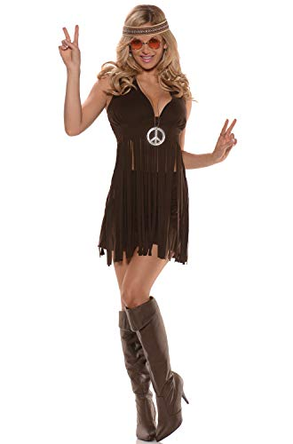 Women's Flirty Hippie Costume - Sunshine -