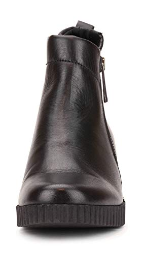 Black Woman Boot Ankle Cate Mos Flexx The Wedge fTOqvY0