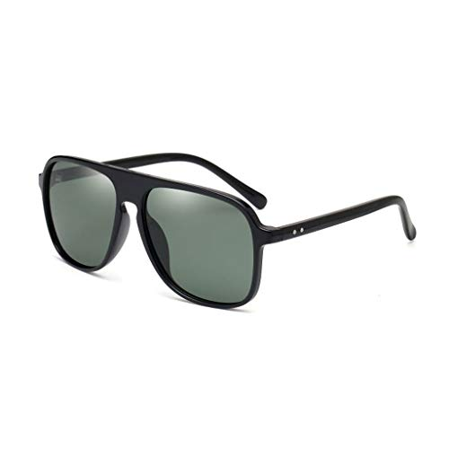 sol Vogue UV polarizadas Retro de Marea New Big D Aviador Gafas Hombres Box para Running 5qntxHHS