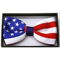 American Flag Bowtie