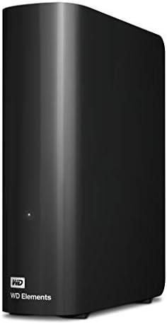 WD 6TB Elements Desktop Hard Drive, USB 3.0 - WDBWLG0060HBK-NESN