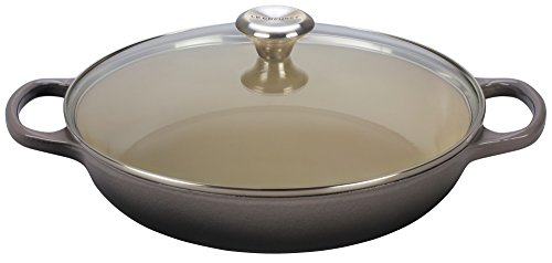 Le Creuset Enameled Cast Iron 3.5qt. Buffet Casserole with Glass Lid - Oyster