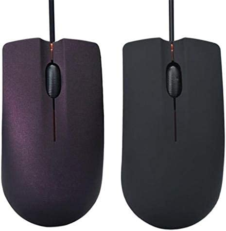 RENKUNDE USB Mouse Wired Gaming 1200 DPI Optical 3 Buttons Game Mice for PC Laptop Computer E-Sports 1M Cable USB Game M20 Wire Mouse Mouse Color : Black