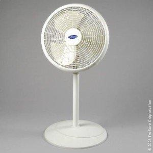 Lasko 2526 16' Adjustable Pedestal Fan, gray