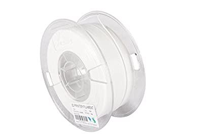 YS YS-PA-W-1.75-1.0 Nylon Filament, Compatible with Makerbot/UP/Afinia/Robo 3D printer, 1.75 mm 1kg, White