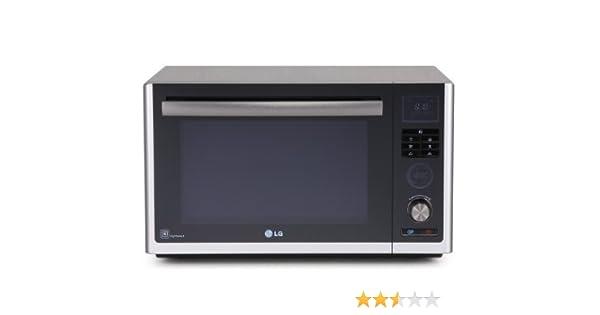 LG - Microondas Mj3281Bp, 32L, Grill Simultaneo, Inox, Electronico ...