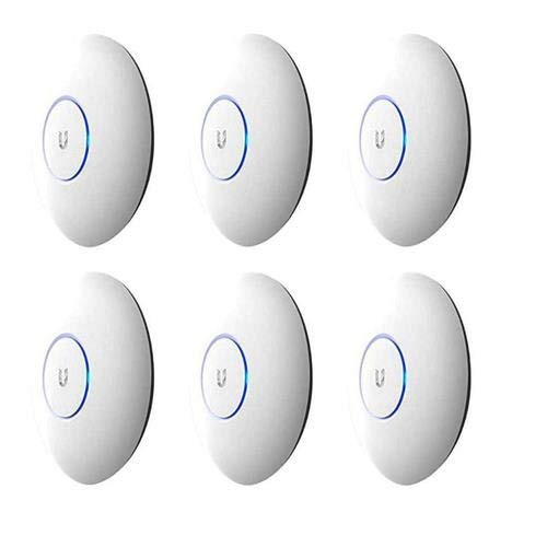 Ubiquiti Networks 6 Pack UAP-AC-PRO UniFi Access Point Enterprise Wi-Fi System by Ubiquiti Networks