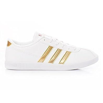 8A1 adidas VL Neo Court Damen Sneaker Schuhe Weiß F38965 Gr
