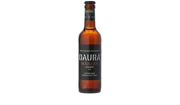 Daura Marzen Damm Cerveza Sin Gluten - Botella 330 ml ...