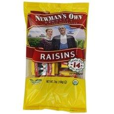 Newman`S Own Organics Raisins Mini Boxes .5 Oz -Pack of 12