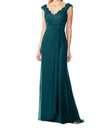 Damen Jaeger Blau Promkleider Dunkel Royal Brautmutterkleider Langes Charmant Partykleider Gruen Abendkleider BqxgdCR
