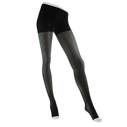 Venosan Legline Open Toe Pantyhose – 20-30mmHg Black Queen VL357BL
