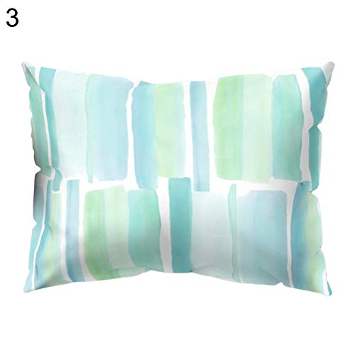 Cushion Cover - Abstract Color Block Animal Pillow Case Cushion Cover Sofa Bed Car Office Decor Useful - Yellow Modern Honey Pink Spring Furniture Fabric Horse Queen Crutches Patio ()