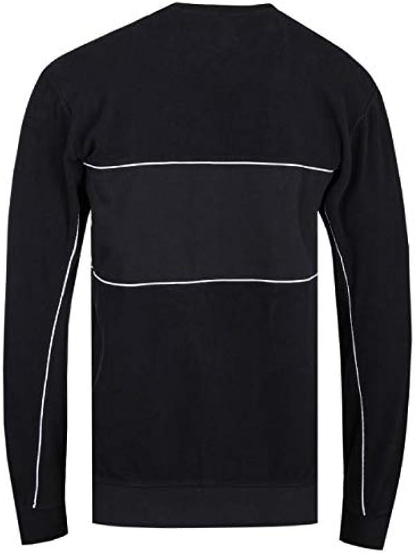 Edwin męski sweter biegowy - czarny: Odzież