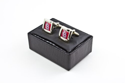 MLB St. Louis Cardinals Square Cuff Links