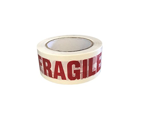 Protak FRAGILE HANDLE WITH CARE Carton Sealing Printed Packing Tape PTF1, 2