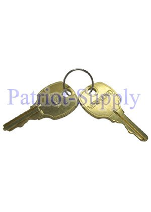 (SET OF 2 REPLACEMENT KEYS FOR ALL TG510, TG511, TG512'S AND OBSOLETE TG500'S.)