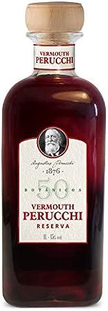 Perucchi Reserva Vermouth Perucchi Reserva – Elaborado en España – Botella de 1 Lt – 15% Alcohol – Misma receta que Perucchi Gran Reserva - Envejecido en fudres - 1000 ml