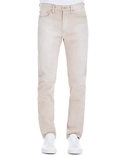 Uomo Cotone Beige Yz6m5012 Yeezy Jeans wqO17Wg6nT