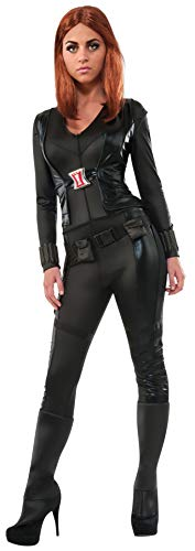 Secret Wishes Women's Marvel Universe, Captain America: The Winter Soldier, Deluxe Black Widow Costume, Multicolor, X-Small
