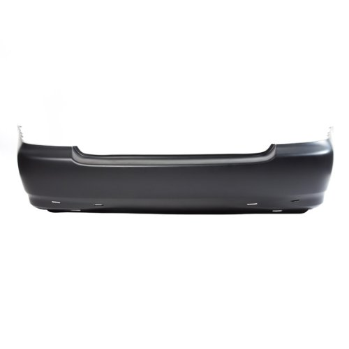 CarPartsDepot, Rear Primered Bumper Cover New Replacement Plastic w/Spoiler Holes, 352-44310-20-PM TO1100209 5215902912 Bumper Cover Spoiler