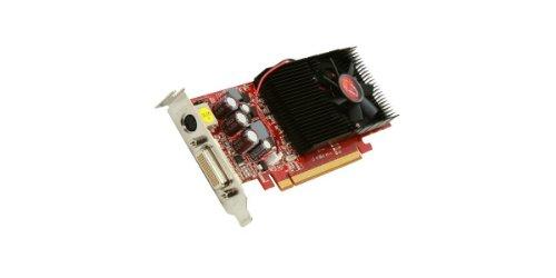 VisionTek Radeon 4550 SFF 512 MB DDR3 (2x DVI-I, salida de TV) con 2x Adaptador DVI-I a VGA Tarjeta gráfica - 900274
