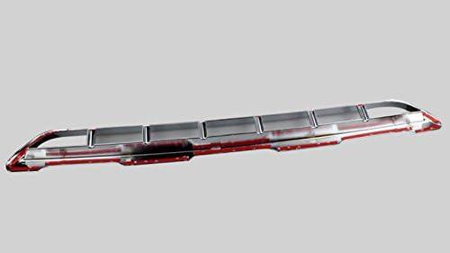 Passt nicht zur Modellpflege 2014 Chrom Untere K/ühlergrill Zierleiste Verchromt 1 St/ück ABS Kunststoff F/ür Q3 8U 2012-2014