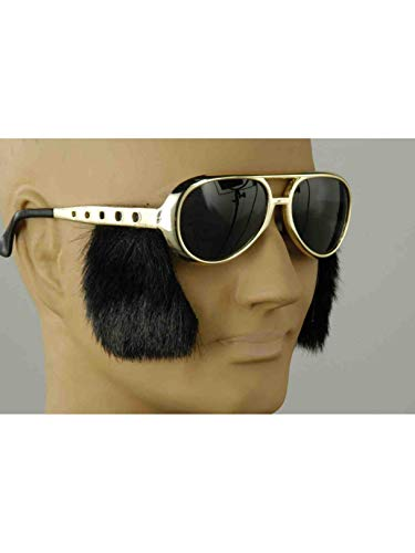 Rock N Roll Glasses - Forum Novelties 58211 Rock N Roll Glasses with Sideburn