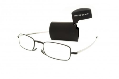 Microvision Optical By Foster Grant Compact Folding Reading Glasses Gideon  1 25 Strength