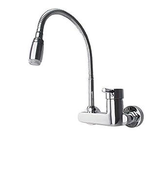 Favorit ATCO® Wandarmatur LED Spültischarmatur Küchenarmatur LR24