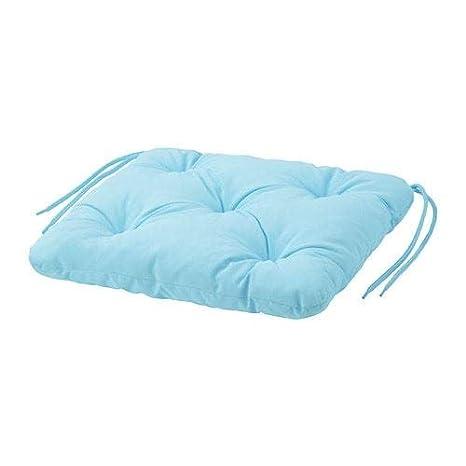 IKEA KUDDARNA - Cojín para silla (exterior) azul claro ...