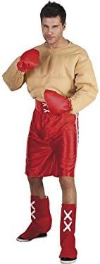 DISONIL Disfraz Boxeador musculos Hombre Talla XL: Amazon.es ...